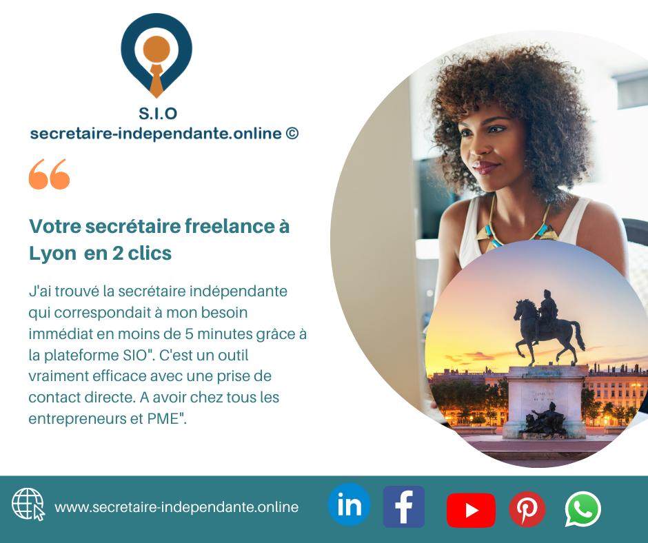 Trouver une secrétaire indépendante à Lyon (69000) sur l'annuaire SIO